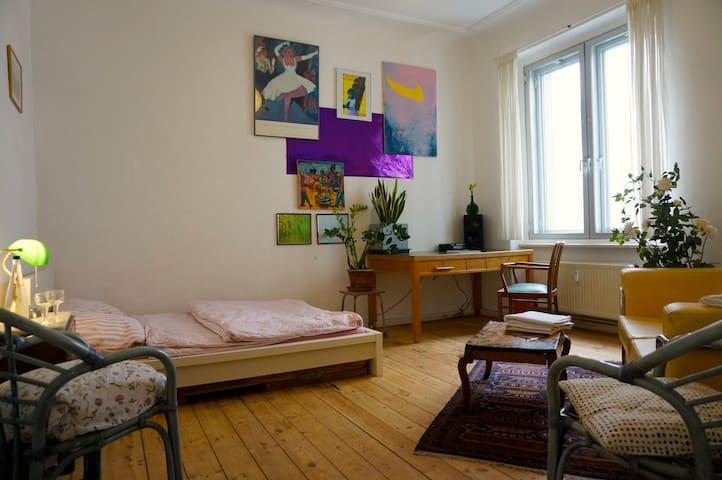 Cosy and Charming Room in Neukölln - Berlín - Byt