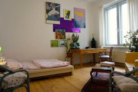 Cosy and Charming Room in Neukölln - Berliini - Huoneisto