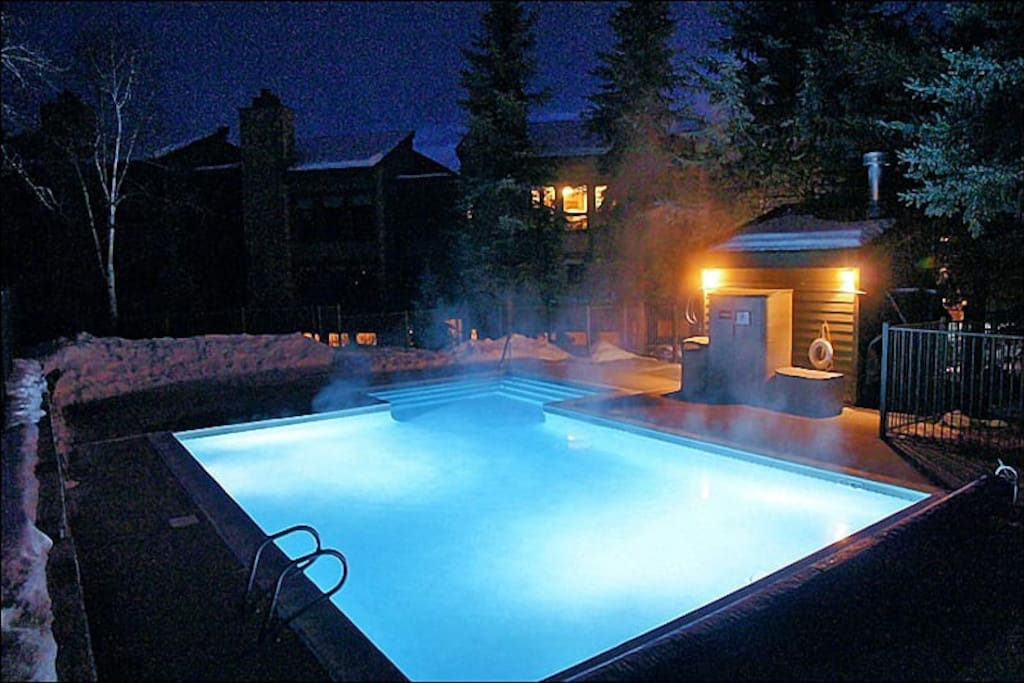 Large Heated Pool open all Winter & Summer!