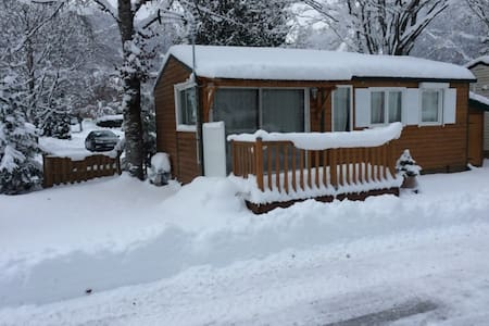 MOBIL HOME 4 PERSONNES STYLE CHALET - Samoëns - บังกะโล