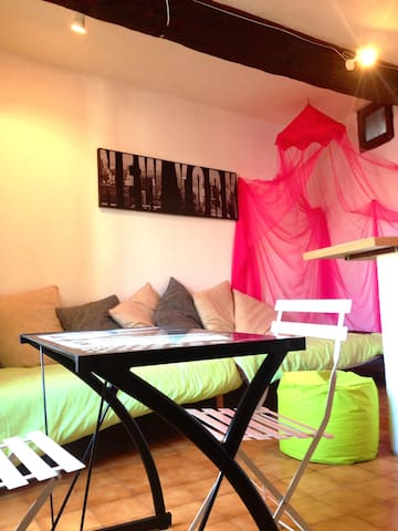 2 grt lofts 10pers Agde 10mn plage - Agde - Townhouse