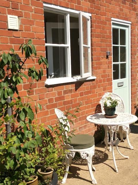 The Three Tuns Coach House, a Suffolk hideaway.