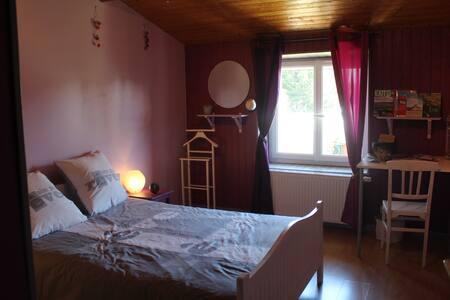 1 chambre proche parc OL (2km) - Eurexpo (7km) - Meyzieu