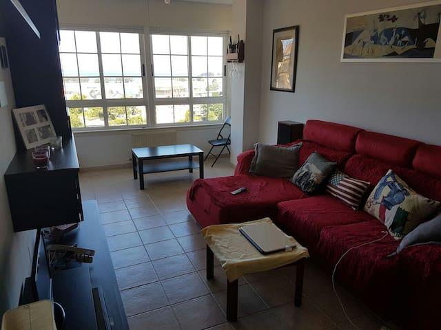 Magnífico DUPLEX, habitación con vistas al MAR - Culleredo - Apartment