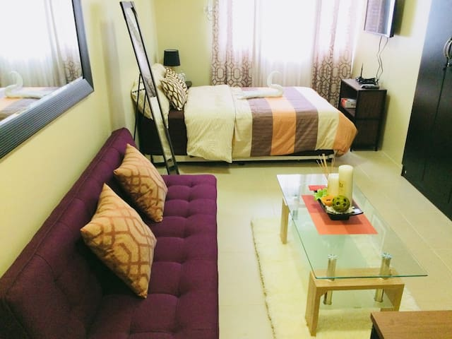 New homey/cosy feel studio unit in Taft Avenue