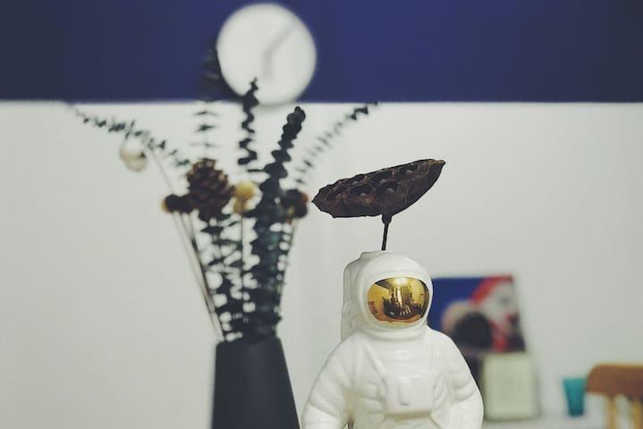 【漫游太空】2居私人影院可煮饭+近琶醍/珠江/兴盛路/广州塔