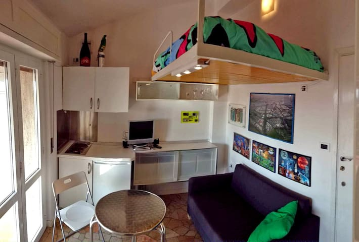 micro apartment nine sq.m