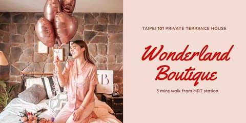 Wonderland 101 Boutique House 城市景觀露台