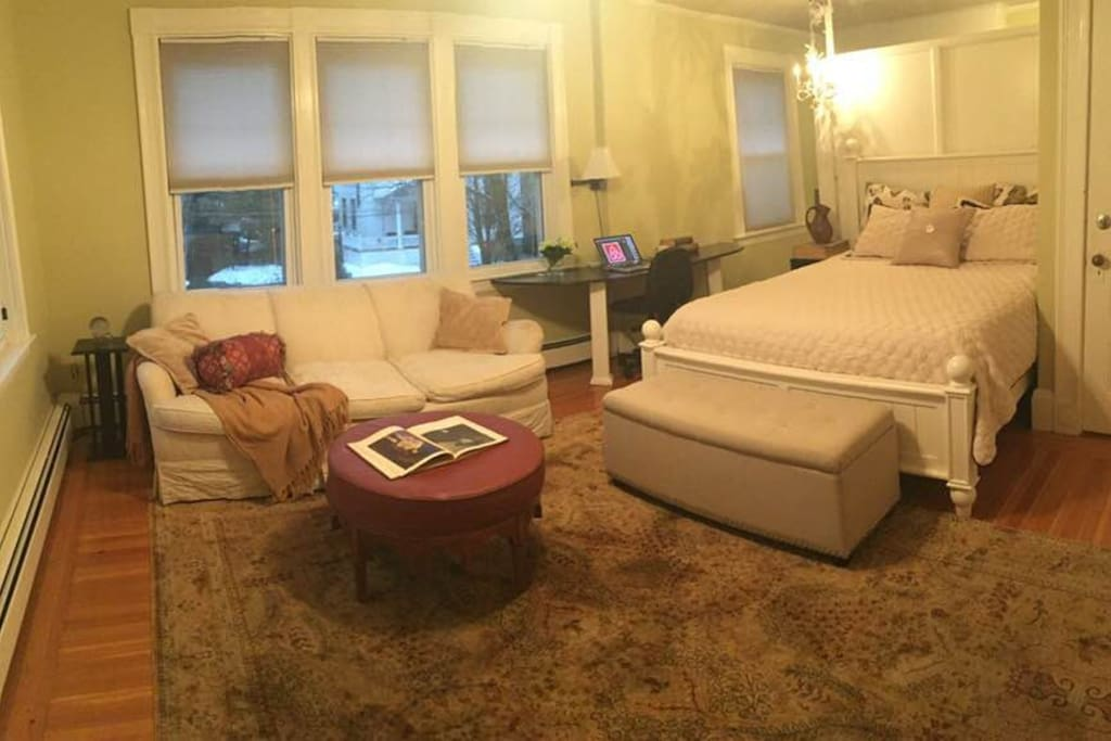 Super comfortable queen-size bed