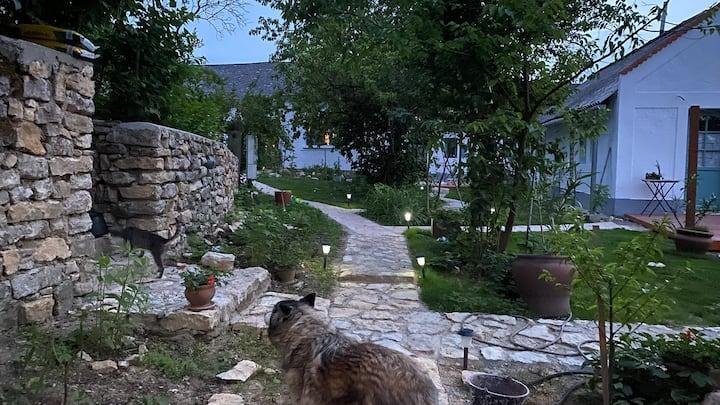 Szép parasztház saját kerttel Káli medencében