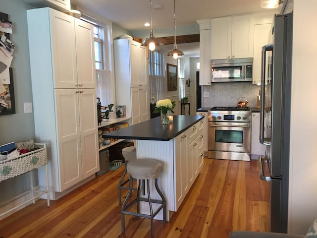 2BR Historic Rowhouse in Equestrian Alley