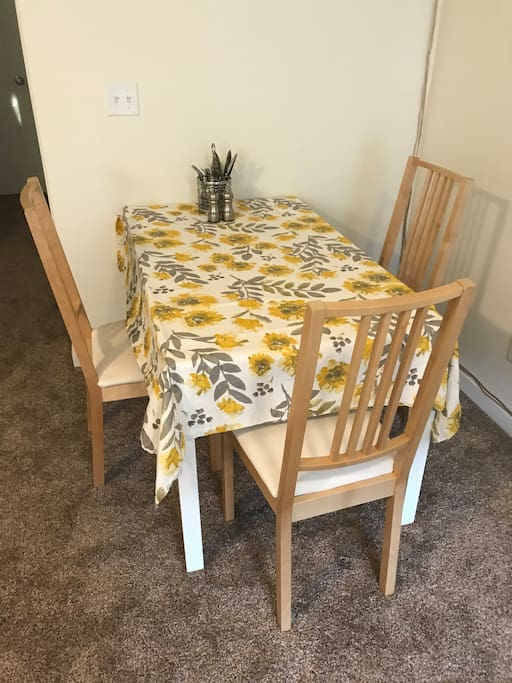 Living Area - Dining Table