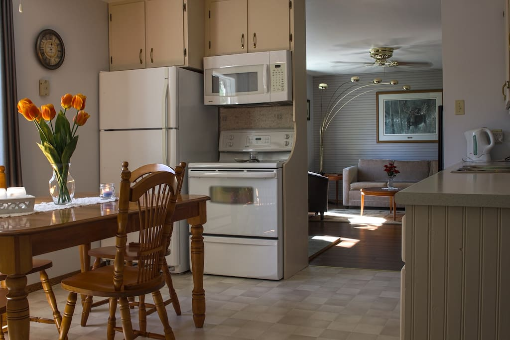 Large country kitchen, fully equipped