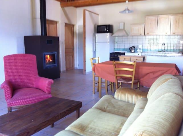 Peyreloup Gite en Lozère - Saint-Sauveur-de-Peyre - Pondok alam