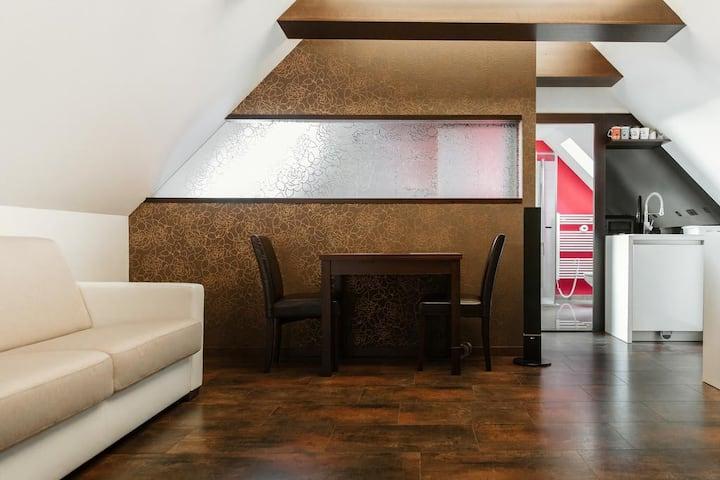 Podkrovný apartmán v centre Bojníc