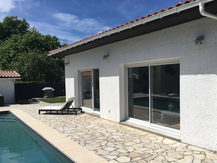 Villa familiale piscine-Océan & Bassin d'Arcachon