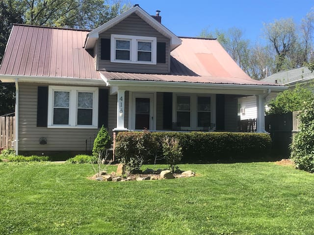 Pet Friendly Updated Craftsman Near Downtown/ETSU
