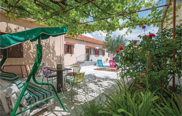 Nice home in Dubravice-Skradin with WiFi and 1 Bedrooms