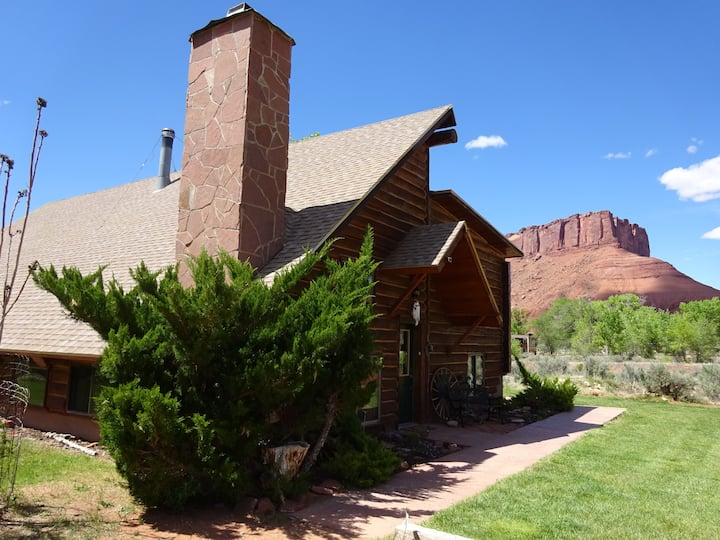 Ranch house close to Moab