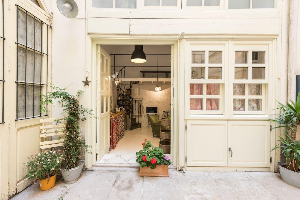 Loft latina palacio lofts en alquiler en madrid - Lofts en madrid ...
