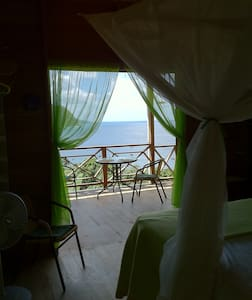 Carpe Diem Villa, Castara- Green room-sea views! - Castara - Wohnung