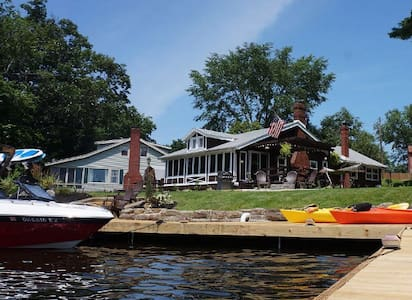 Lakehouse with fantastic views - Akron - Huis