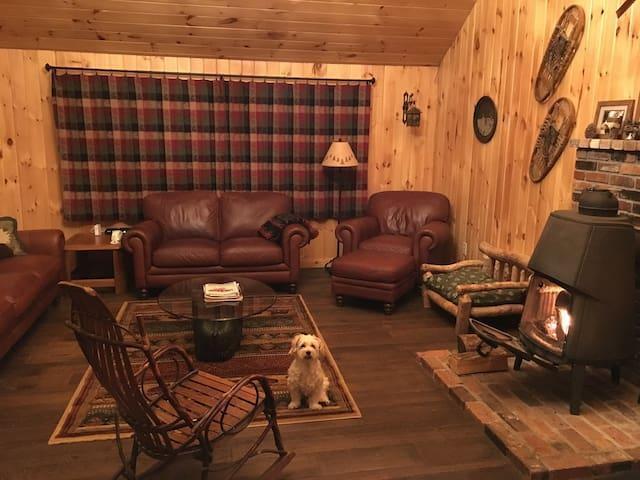 Adirondack Getaway perfect for families - Northville - Casa