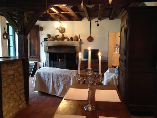 Chambre et dépendances (2personnes) - Varennes-lès-Narcy - Dom