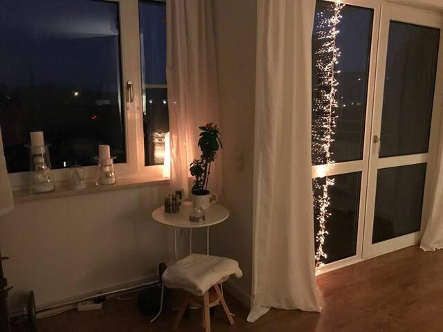 Schöne helle Wohnung in praktischer Lage