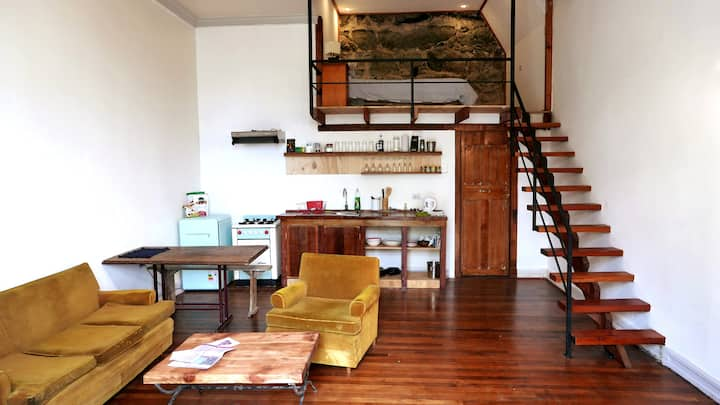 Beatiful loft with ocean view in Cerro Alegre!