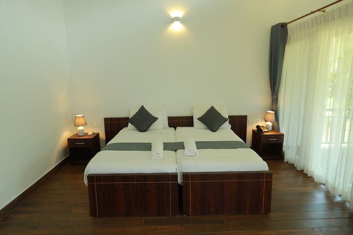 Ayurvedic Bliss, the hill view rooms