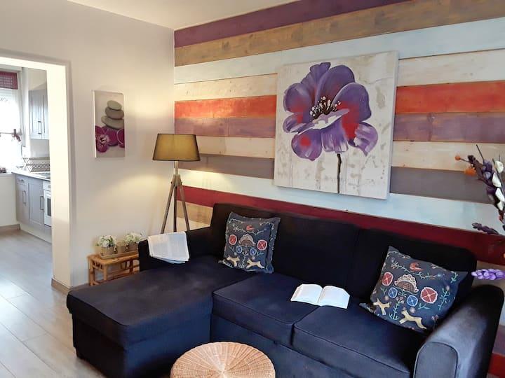 Appartement chaleureux au calme