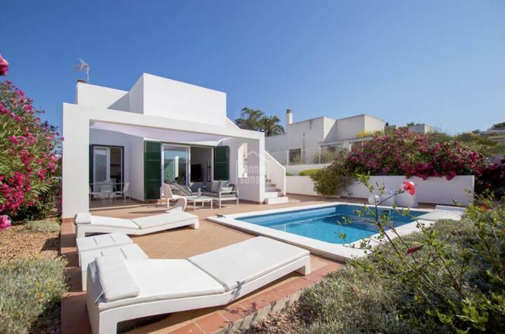 """CASA SALAMANDRA"" Villa San Jaime-Son Bou Sea View"