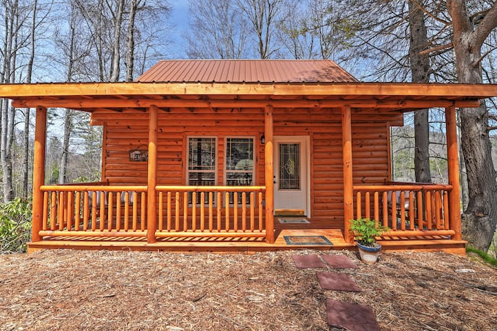 Secluded 2BR Roan Mountain Cabin w/Grill & Deck