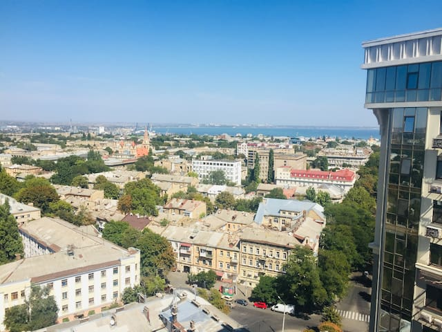 In the Heart of Downtown Odessa! Sea View!