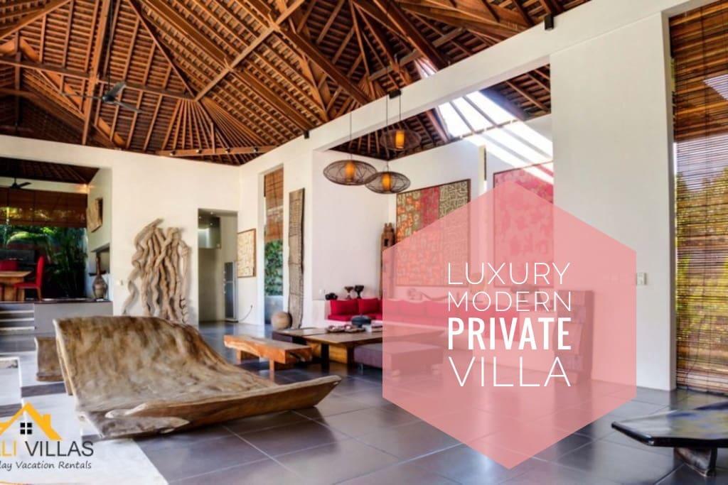 Arte, Luxury 3 Bedroom Villa, Central Seminyak - Villas for Rent in ...