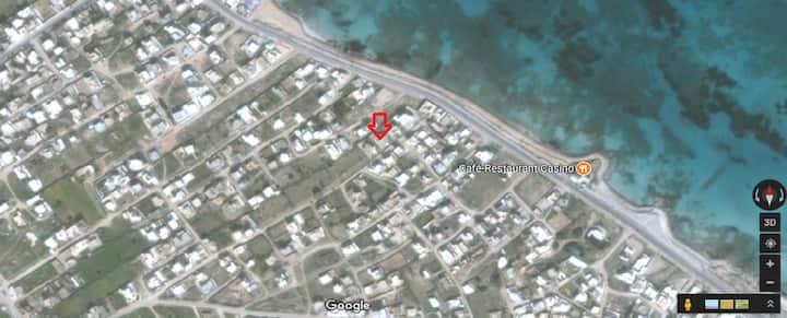 villa à la plage de la Chebba