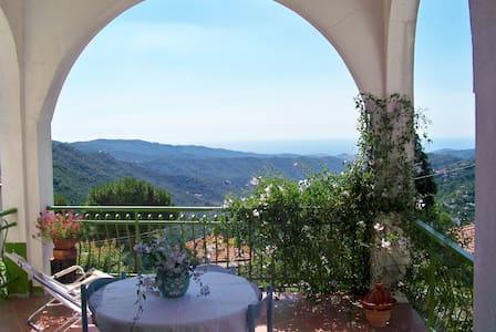 Terrace with sea view, Garden