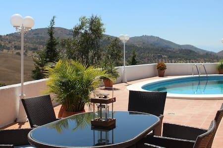 Luxurious Villa with stunning views & private pool - Fuente Amarga - Vila
