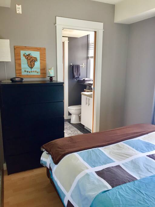 Personal bathroom off bedroom