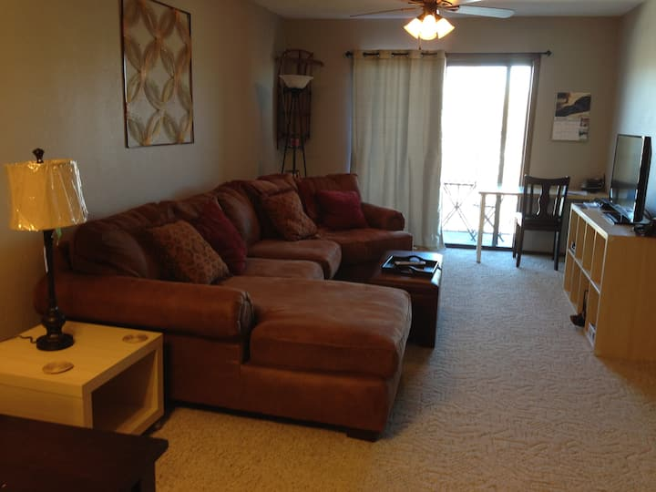 Social Distance! Updated 2 br Condo Sleeps 4.Views