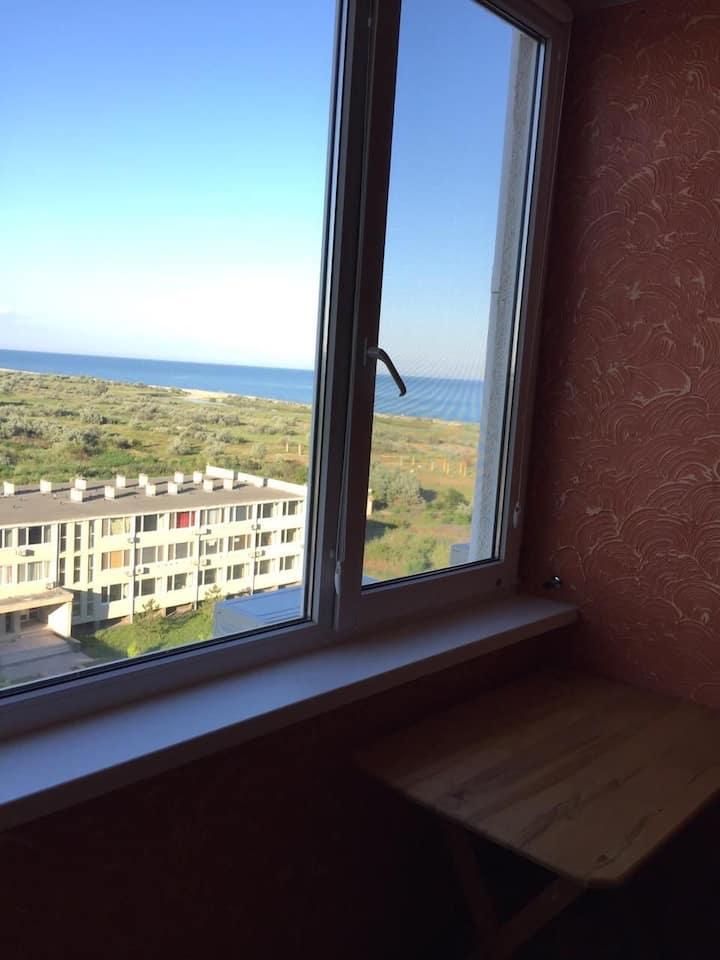 Сдам квартиру в Променад 1линия у моря вид на море