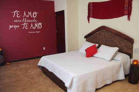 """Private Suite """"I Love You"""" 2km away from the beach - Chemuyil - Apartment"""