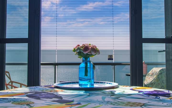 阿那亚黄金海岸社区二期公寓lily的16层无敌海景阁楼亲子公寓
