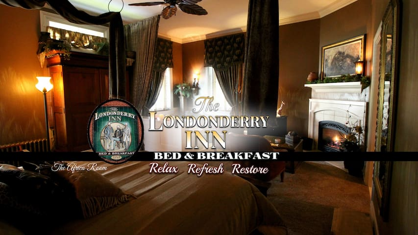 THE LONDONDERRY INN B&B's Africa Room - พาร์มีร่า