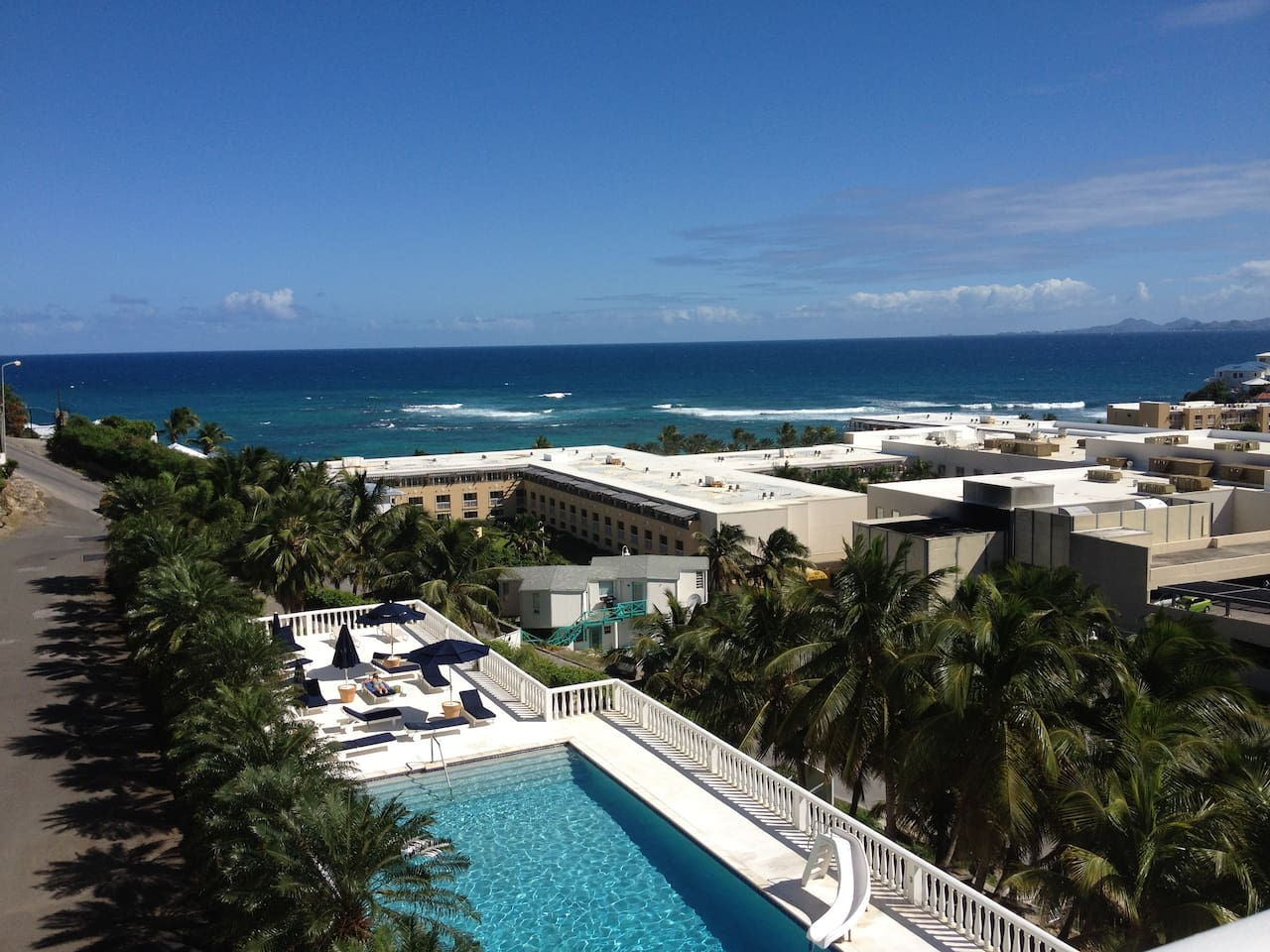 Spectacular Ocean View with pool and Westin Resort in foreground