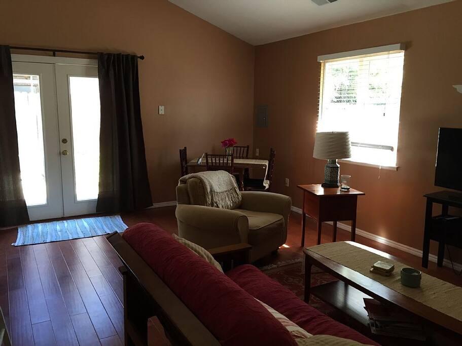 Living room/front door