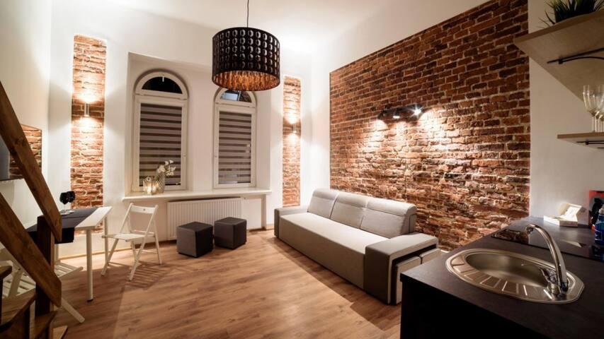 Brick Apartment Old Town Krakow
