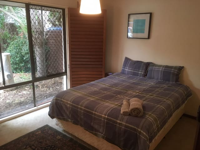 Main bedroom in quiet Subiaco house close to CBD