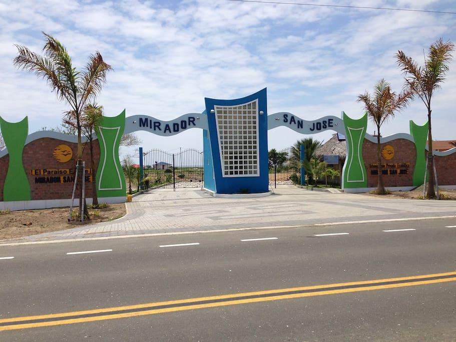 Porte du Mirador san José
